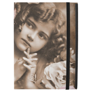 "Cute Little Vintage Girl iPad Pro 12.9"" Case"