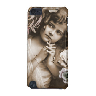 Cute Little Vintage Girl iPod Touch 5G Cover