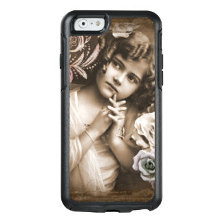 Cute Little Vintage Girl OtterBox iPhone 6/6s Case