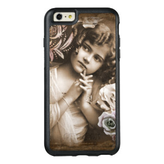 Cute Little Vintage Girl OtterBox iPhone 6/6s Plus Case