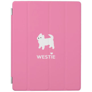 Cute Little Westie - West Highland Terrier iPad Cover