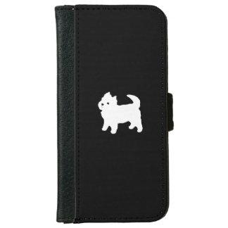 Cute Little Westie - West Highland Terrier iPhone 6 Wallet Case