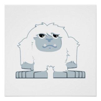 Cute little Yeti Poster