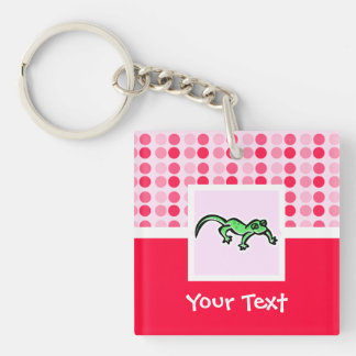 Cute Lizard Acrylic Keychains