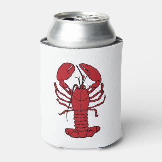Cute Lobster Nautical beach can cooler