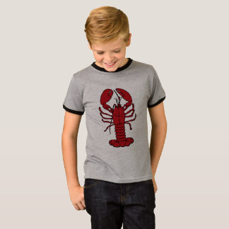 Cute Lobster Nautical beach  cute kids shirt