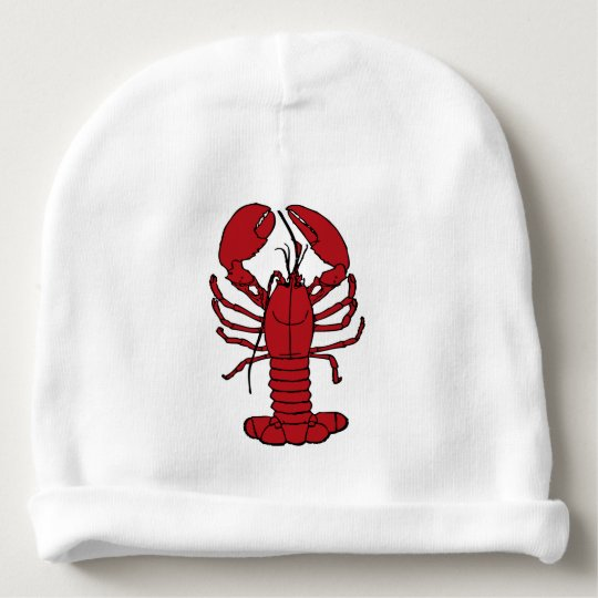 Cute Lobster Nautical beach lobster Beanie hat Baby