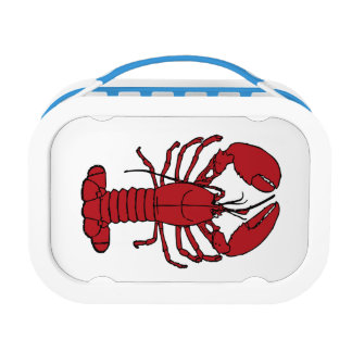 Cute Lobster Nautical beach  lurch box