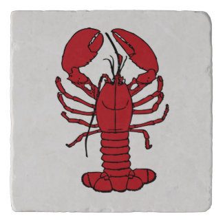 Cute Lobster Nautical beach  trivet