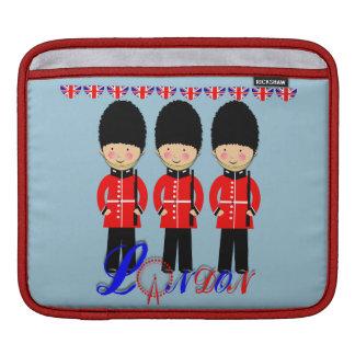 Cute London Queens Guard Themed iPad Sleeve