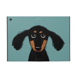 Cute Long Haired Dachshund Puppy iPad Mini Cover