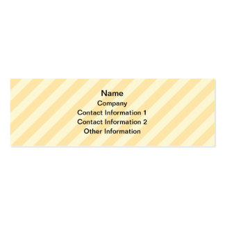Cute Lop Bunny, with stripe background. Pack Of Skinny Business Cards