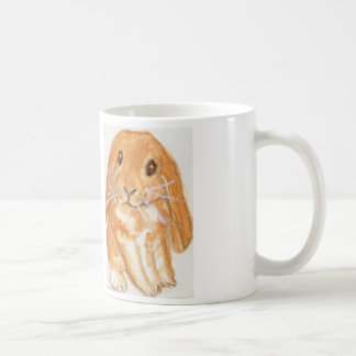 Cute lop eared rabbit mug daughter son birthday