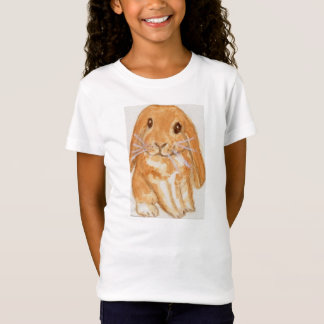 Cute lop eared rabbit  shirt daughter birthday