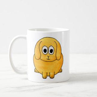 Cute Lop Rabbit. Basic White Mug