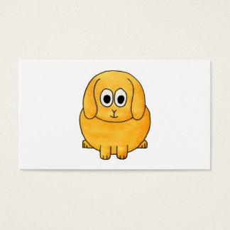 Cute Lop Rabbit. Business Card