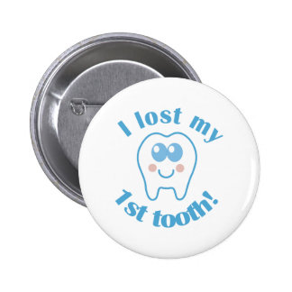 Cute Lost My 1st Tooth Gift 6 Cm Round Badge