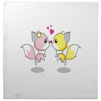 Cute Love Birds Napkin