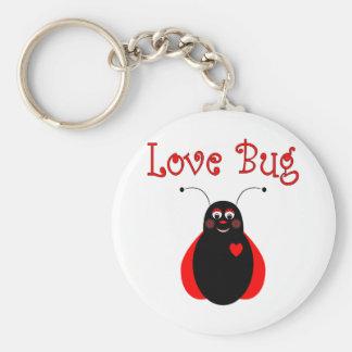 Cute Love Bug Ladybug Keychain
