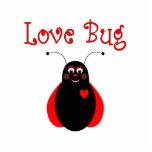 Cute Love Bug Ladybug Ornament Photo Cut Out