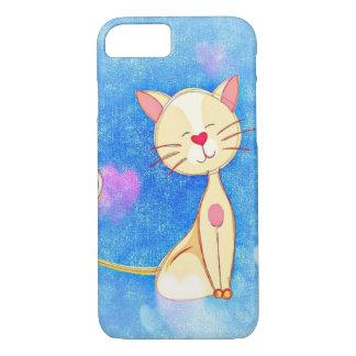 Cute Love Cat iPhone 7 Case