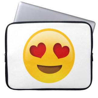 Cute 'Love' Emoji 15-inch laptop case