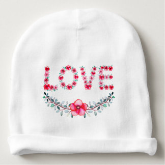 Cute Love Floral Baby Hat Baby Beanie