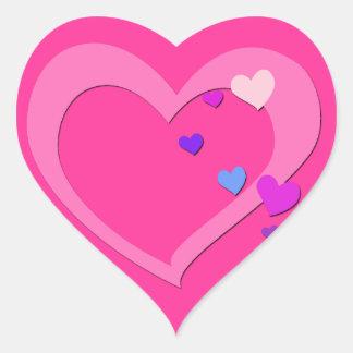 Cute Love Heart Sticker