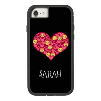 Cute Love Kiss Lips Emoji Heart Case-Mate Tough Extreme iPhone 8/7 Case