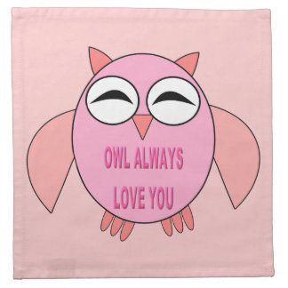 Cute Love Message Party Napkin