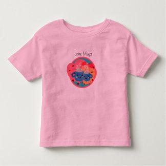 Cute Love Mugs Kawaii Hot Beverage with Hearts - Tee Shirts