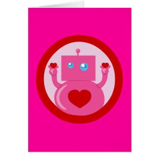 Cute Love Robot Cards