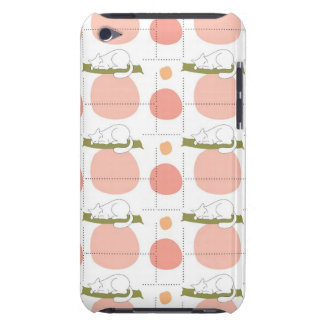 Cute Lovely Sleeping Cat Pattern iPod Touch Cases