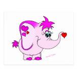 Cute Lucky Pinkie Postcard