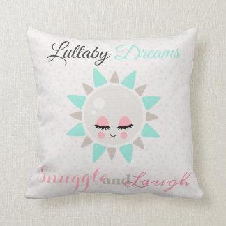 Cute Lullaby Dream Laugh Decor Neutral Sun Cushion