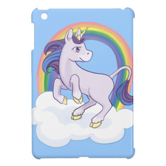 Cute Magical Rainbow Unicorn iPad Mini Covers