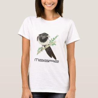 Cute Magpie Bird, Birding, Nature, Wildlife,Garden T-Shirt