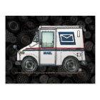Cute Mail Truck Postcard