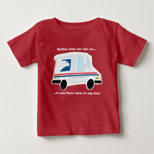 Cute Mail Truck T-Shirt Baby - Toddler -