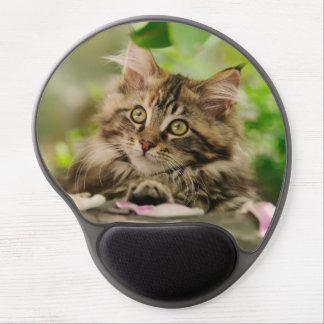 Cute Maine Coon kitten Gel Mousepads