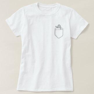 Cute Manatee Pocket T-shirt