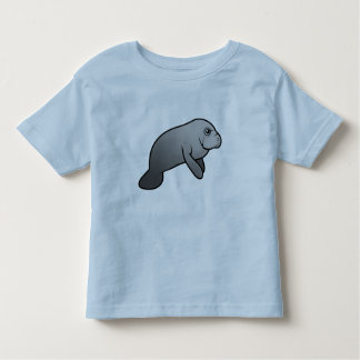 Cute Manatee Toddler T-Shirt