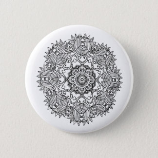 Cute Mandala Badge