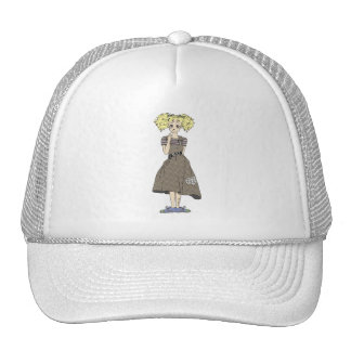 Cute manga girl trucker hats