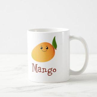 Cute Mango Basic White Mug