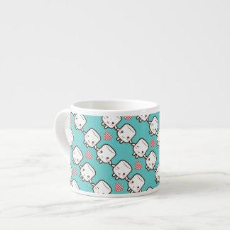 Cute Marshmallow couple Espresso Mug