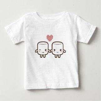 Cute Marshmallow couple Tees