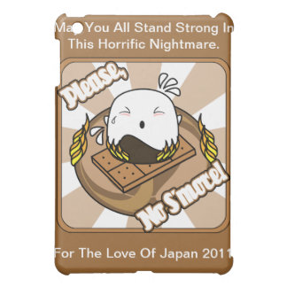 Cute Marshmallow Nightmare For Japan Relief iPad Mini Case