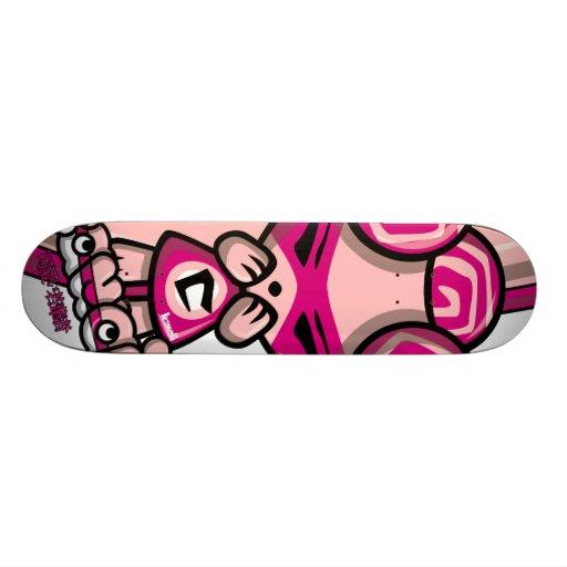 Cute Mascot Skateboard