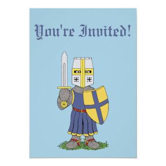 Cute Medieval Knight Invitations